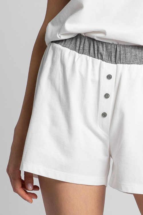 Krótkie spodenki od piżamy o lekkiej konstrukcji