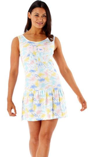 Lekka damska sukienka od piżamy