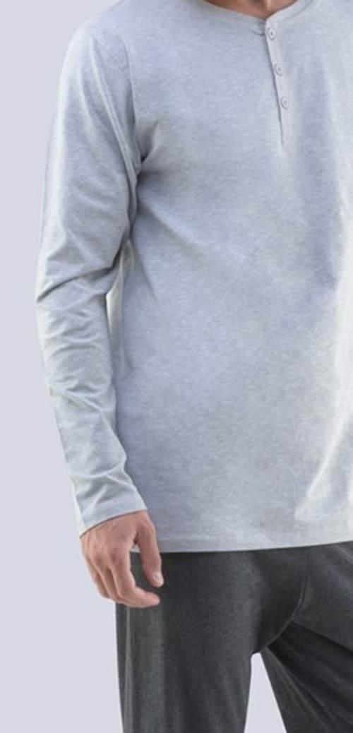 Piżama męska z szarej bawełny