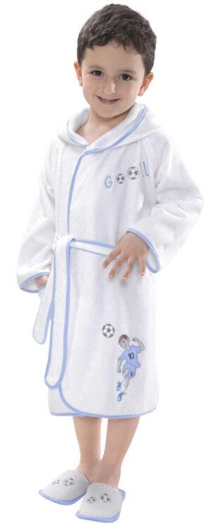 Szlafrok frotte piłkarz