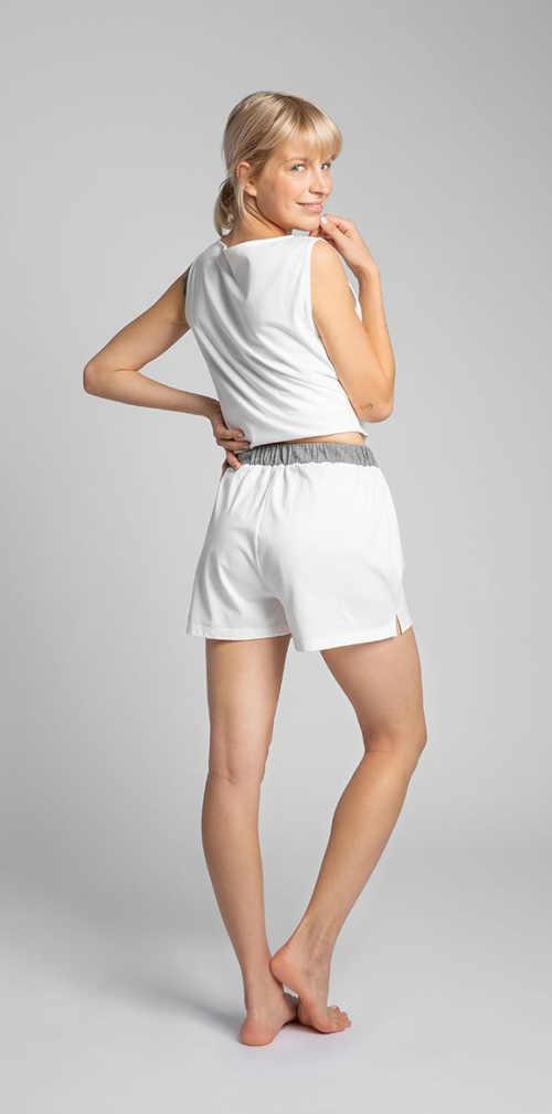 Szorty od piżamy wykonane z wysokiej jakości bawełny