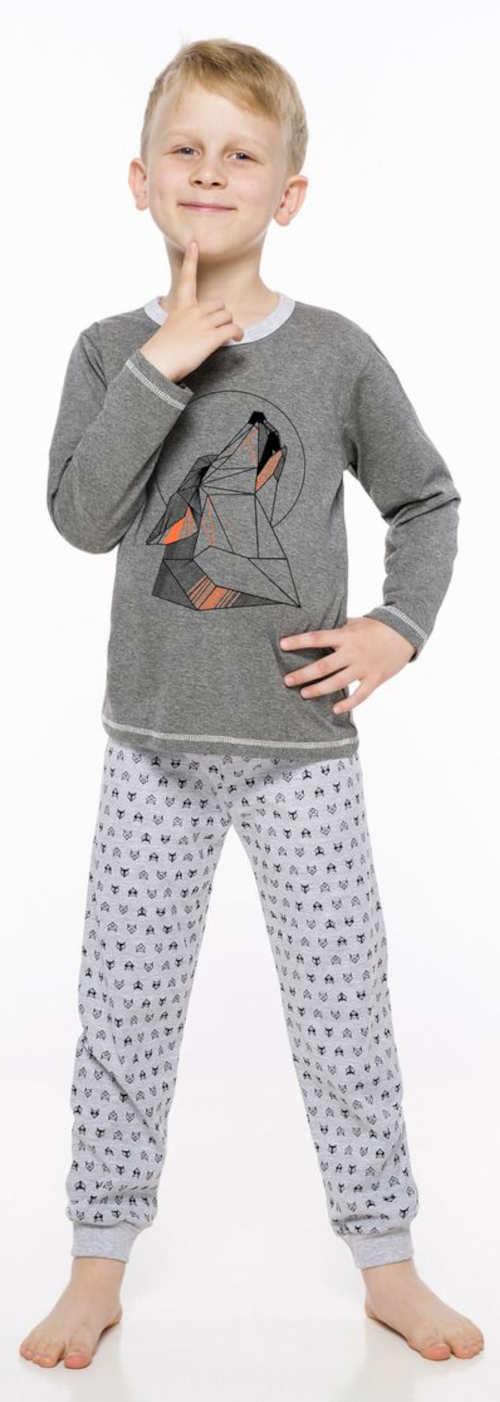 Przecena bawełniana piżama chłopięca