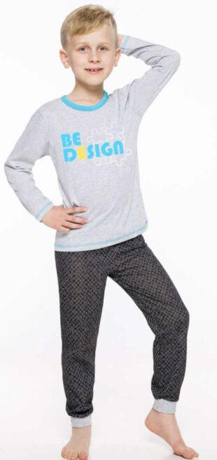 Nowoczesna piżama dziecięca Taro z długimi rękawami i spodniami