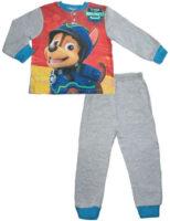 Wysokiej jakości długa piżama chłopięca z wesołym nadrukiem