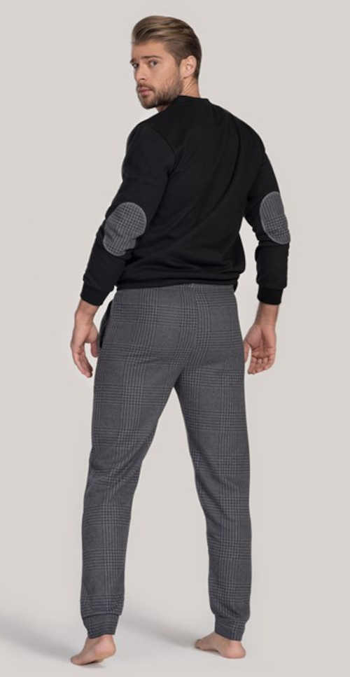 Luksusowa męska stylowa piżama