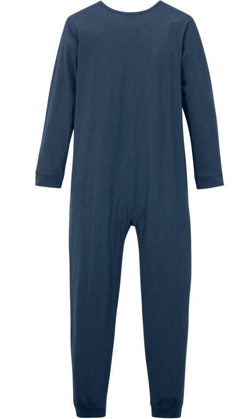 Niebieski strój do spania dla chłopców