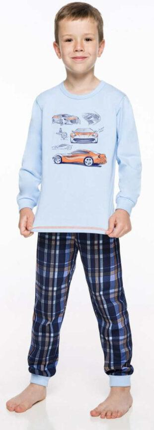 Piżama chłopięca z samochodami