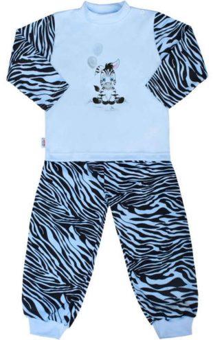 Piżama bawełniana dla niemowląt New Baby Zebra z balonem
