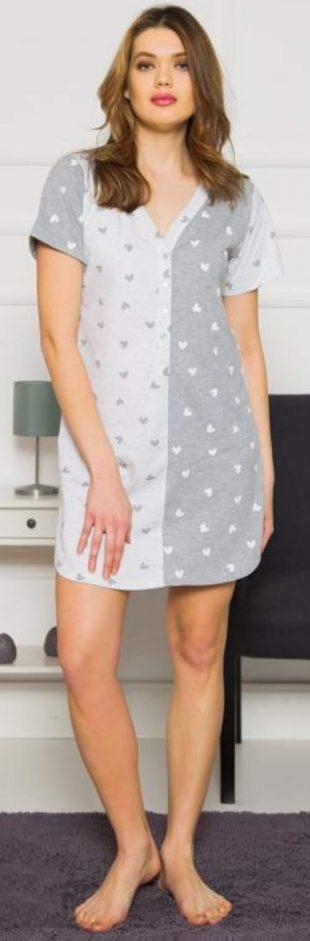 Urocza koszula nocna dla kobiet do karmienia Vienetta Secret