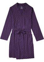 Szlafrok damski wykonany z wysokiej jakości tkaniny w stylu kimono